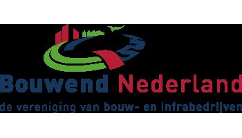 Het logo van Bouwend Nederland