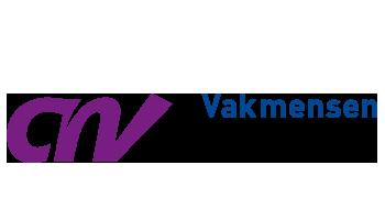 Het logo van CNV Vakmensen